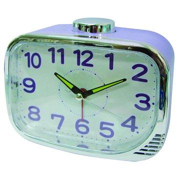 無敵王 SV-731靜音鬧鐘(紫)(福利品出清)