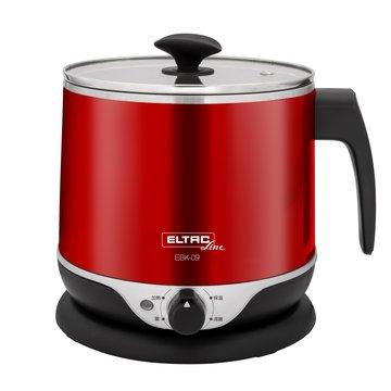 歐頓 EBK-09 2.2L雙層防燙不鏽鋼美食鍋