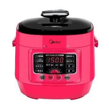 美的 MYSS2521WP 紅 mini食代 壓力鍋
