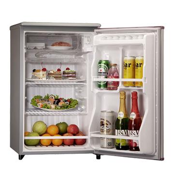 TECO 東元 R1061LA 91L單門灰色冰箱(福利品出清)