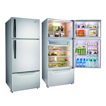 TECO 東元 R6061VXK 600L三門變頻琉璃金古銅鑽冰箱(福利品出清)