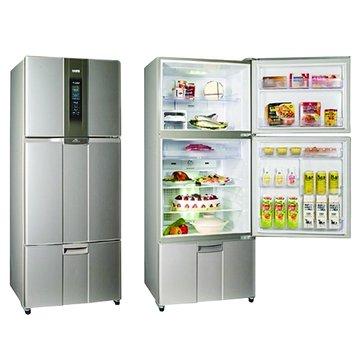 SAMPO 聲寶 SR-L53DV(G3) 525L三門變頻晶鑽灰電冰箱(福利品出清)