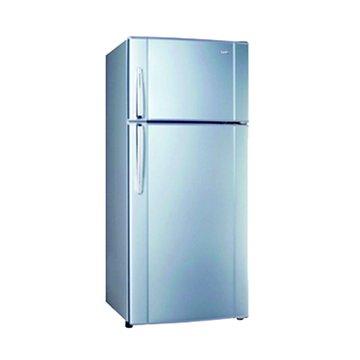 SAMPO 聲寶 SR-K34G(B2) 340L雙門星空藍冰箱(福利品出清)