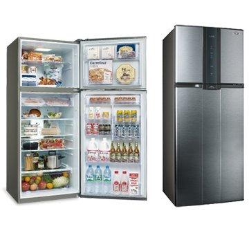 SAMPO 聲寶 SR-A53D(K3)530L雙門變頻漸層銀冰箱