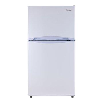 Whirlpool 惠而浦 WMT2130W 130L 雙門白色冰箱(福利品出清)