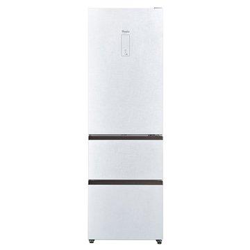Whirlpool 惠而浦 WHB3350LW 350L三門無框玻璃白色冰箱(福利品出清)