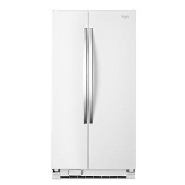 Whirlpool 惠而浦 WRS322FNAH 640L對開白色冰箱(福利品出清)