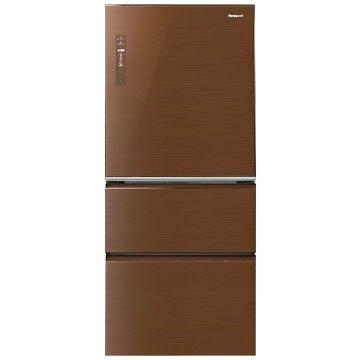 Panasonic  國際牌NR-C618NHG-T 610L三門變頻無框玻璃翡翠棕冰箱