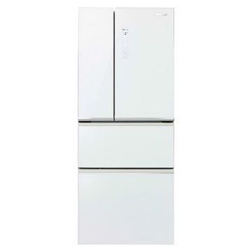 Panasonic 國際牌 NR-D508NHG-W 500L四門變頻無框玻璃翡翠白冰箱