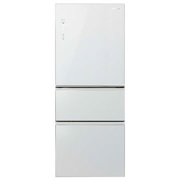 Panasonic  國際牌NR-C508NHG-W 500L三門變頻無框玻璃翡翠白冰箱(福利品出清)