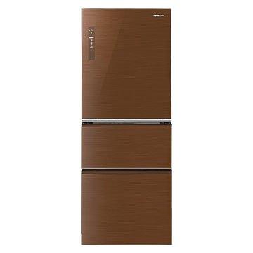 Panasonic 國際牌 NR-C508NHG-T 500L三門變頻無框玻璃翡翠棕冰箱(福利品出清)