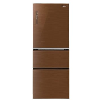 Panasonic  國際牌NR-C508NHG-T 500L三門變頻無框玻璃翡翠棕冰箱