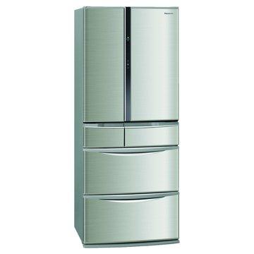 Panasonic 國際牌 NR-F607TT-S1 603L六門變頻不銹鋼色日製冰箱(福利品出清)