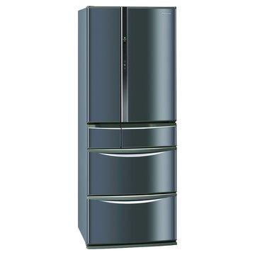 Panasonic 國際牌 NR-F507TT-K1 501L六門變頻琉璃黑日製冰箱(福利品出清)