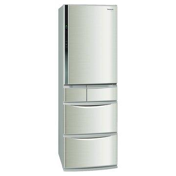 Panasonic 國際牌 NR-E437TX-N1 430L五門變頻香檳金日製冰箱(福利品出清)