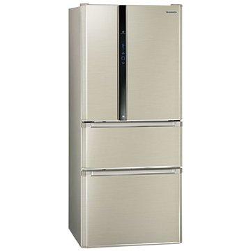 Panasonic  國際牌NR-D618NHV-L 610L四門變頻香檳電冰箱