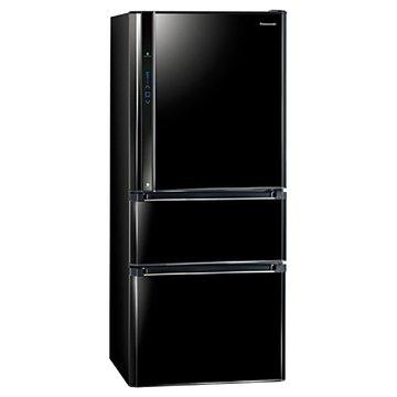 Panasonic 國際牌 NR-C618NHV-B610L三門變頻鏡面黑冰箱(福利品出清)