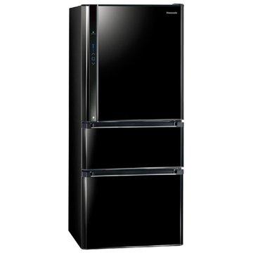 Panasonic  國際牌 NR-C618HV-B  610L三門變頻鏡面黑電冰箱
