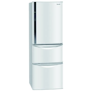 Panasonic 國際牌 NR-C387HV-W 385L三門變頻冰雪白電冰箱(福利品出清)