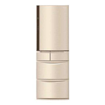 Panasonic 國際牌 NR-E430VT-N1 430L五門變頻無邊框香檳金日製冰箱(福利品出清)