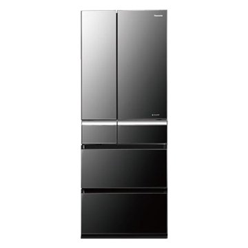 Panasonic 國際牌 NA-F610VX-X1 608L六門變頻無框玻璃鐨石黑日製冰箱(福利品出清)