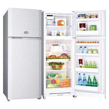 SANLUX SR-C310B1(Q) 310L雙門閃耀銀冰箱