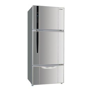SANLUX 台灣三洋 SR-A528CV3(J) 528L三門變頻珍珠銀冰箱(福利品出清)