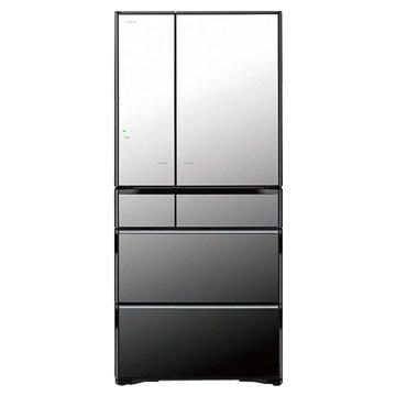 HITACHI 日立 R-X670FJ(X) 670L 六門變頻琉璃鏡冰箱(福利品出清)