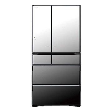 HITACHI 日立 R-X730FJ(X) 730L 六門變頻琉璃鏡冰箱(福利品出清)