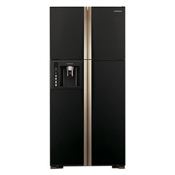 HITACHI 日立 RG616(GBK) 594L四門對開變頻冰箱(琉璃黑)