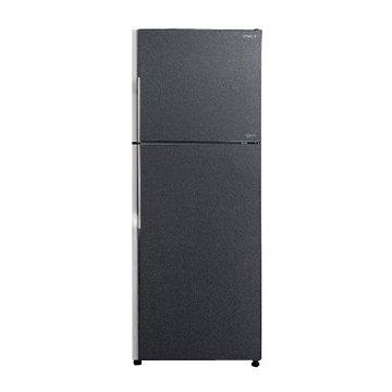 HITACHI 日立 R-G399(GGR) 381L雙門變頻琉璃灰冰箱