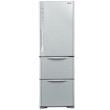 HITACHI 日立 R-G41WS(GS) 385L三門變頻琉璃瓷冰箱(福利品出清)