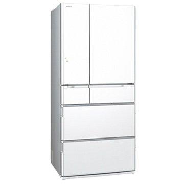 HITACHI 日立 R-SF8800E(XW) 670L六門變頻琉璃白日製冰箱(福利品出清)