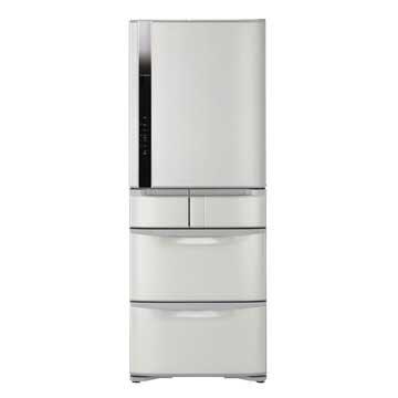 HITACHI 日立 R-S42FJ(SH) 420L五門變頻右開星燦不銹鋼冰箱