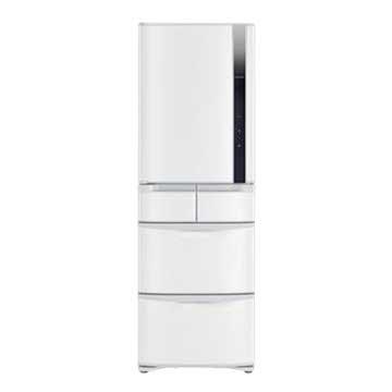 HITACHI 日立 R-S42FJL(W) 420L五門變頻左開星燦白冰箱