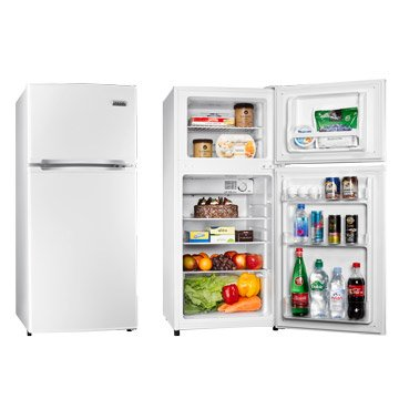 TECO R1303W 125L雙門白色冰箱
