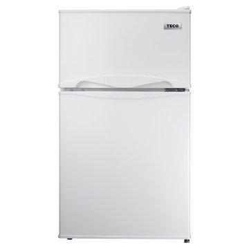 TECO 東元 R1001W 100L雙門珍珠白冰箱