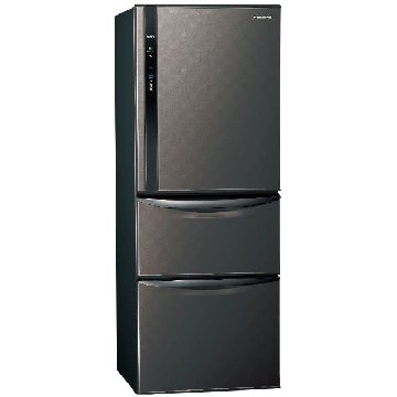 Panasonic  國際牌NR-C479HV-K 468L三門變頻星空黑冰箱
