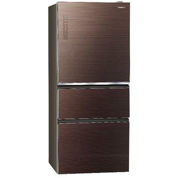 Panasonic  NR-C610NHGS-T 610L三門變頻無透框玻璃翡翠棕冰箱