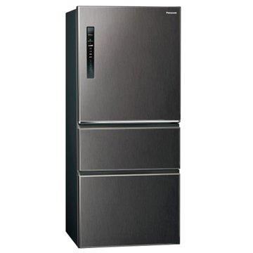 Panasonic 國際牌 NR-C610HV-V 610L三門無邊框絲紋黑冰箱