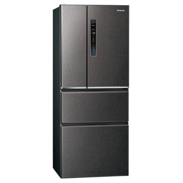 Panasonic 國際牌 NR-D500HV-V 500L四門無邊框絲紋黑冰箱