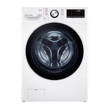 LG WD-S15TBW 15KG變頻滾筒蒸洗脫白色洗衣機 洗衣機