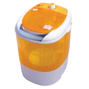 ZANWA 晶華 JB-2207Y 2.5KG橘色單槽迷你柔洗機(金貝貝系列)基本運送不含安裝