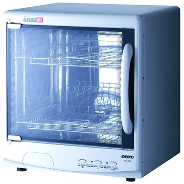 SANLUX 台灣三洋 SSK-560 雙層微電腦烘碗機(福利品出清)