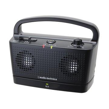audio-technica 鐵三角鐵三角數位無線喇叭SP767TV黑 攜帶式(福利品出清)