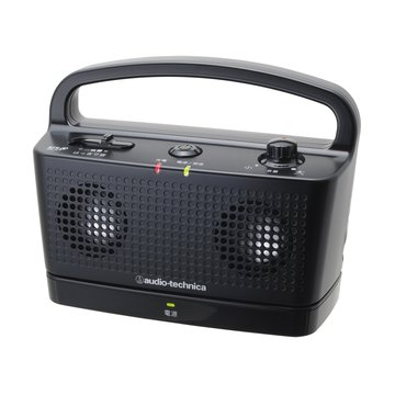 audio-technica 鐵三角鐵三角數位無線喇叭SP767TV黑 攜帶式