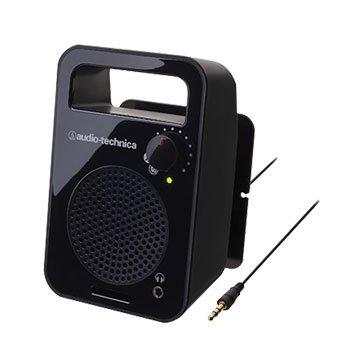 audio-technica 鐵三角鐵三角單聲道主動喇叭MSP56TV黑