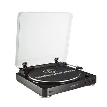 audio-technica 鐵三角 鐵三角全自動立體聲黑膠唱盤LP60黑