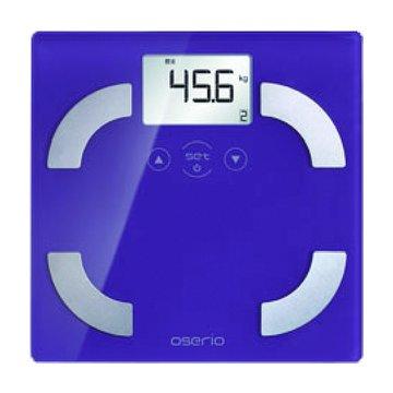 oserio 歐瑟若 FLG-351P 多功能玻璃體脂計(紫)