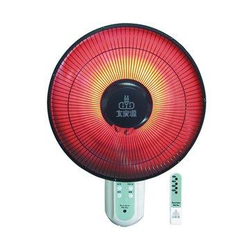 大家源 TCY-710 14吋定時遙控壁掛鹵素電暖器(福利品出清)